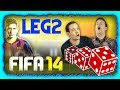 NEXT GEN FIFA 14 - LUCK OF THE DICE *FINALE* LEG 2 - XBOX ONE!