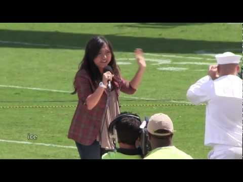 Charice -God Bless America- Jacksonville Jaguars EverBank Field, 9-11 10th Anniversary Tribute