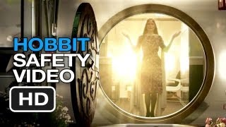 The Hobbit: An Unexpected Briefing - Hobbit Airplane Safety Video HD
