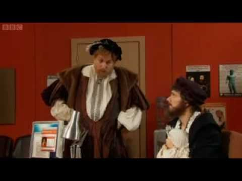 Horrible Histories - James Hamilton 2nd Earl of Arran and the baby Mary Queen of Scots