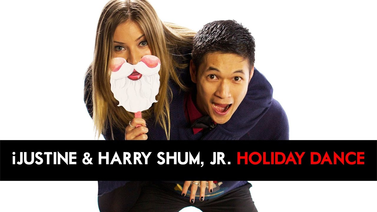 iJustine & Harry Shum, Jr Give Back - HOLIDAY DANCE for Charity! [DS2DIO]