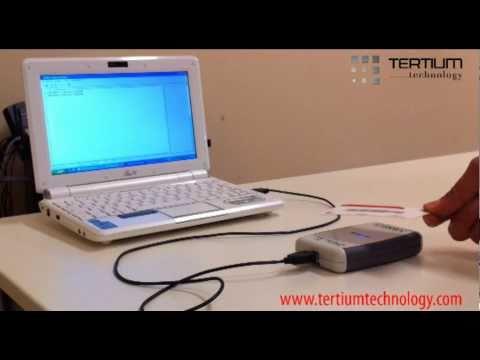 IceKey:Lettore da banco USB per la lettura/scrittura di tag RFID UHF. By TERTIUM Technology