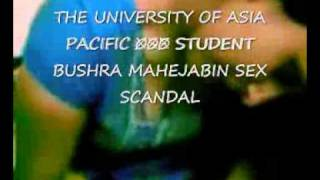 Photo The University Of Asia Pacific Student Sex Scandal