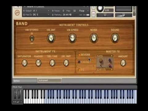 Native Instruments - Kontakt 4 - Tutorial - Sound Library (Part 2 of 3)