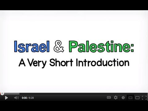 Watch Israel and Palestine, an animated introduction.