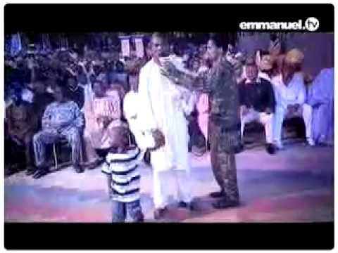 Watch TB Joshua  Anointed Water!