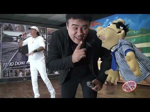 Roberto e Meirinho no programa Titio Doni na TV e o grande Sucesso  FORRO NO ESCURO