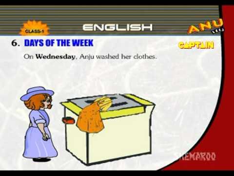 Kids Educational Videos - Days Of Week