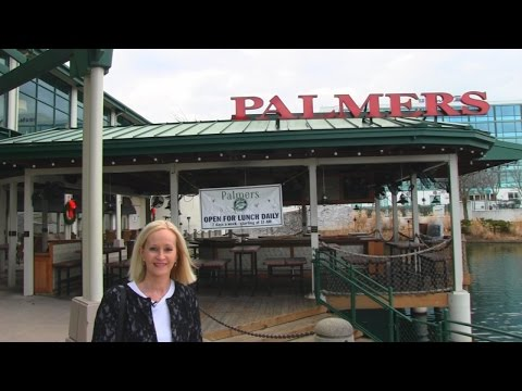 Betty's Birthday Trip to Palmer's Grill Restaurant with Rick + Gifts!