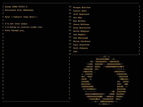 Portal - Credits Song -Still Alive-