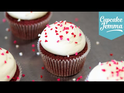 Perfect Red Velvet Cupcake Recipe | Cupcake Jemma