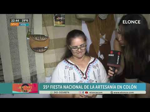 Colón: Los productos artesanales de la región