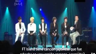 111021 FT Island 'Like Birds +comment + Flower Rock' @Yoo Hee Yeol's Sketchbook (Sub Esp)