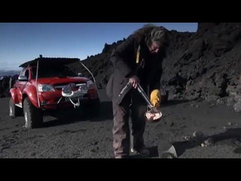 Volcano barbecue - Top Gear Outtakes - BBC