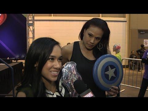 Marvel at WrestleMania XXX: AJ Lee & Tamina - marvel