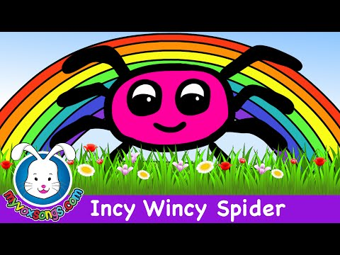 Incy Wincy Spider nursery rhyme HD