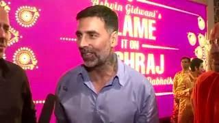 Akshay Kumar & Sidharth Malhotra on Blame It On Yashraj
