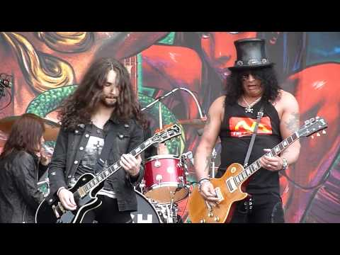 Slash - Nightrain (Gods Of Metal, Milan, 23.06.2012)
