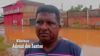 MORADORES DO BAIRRO ELDORADO VIVEM EM MEIO A LAMA
