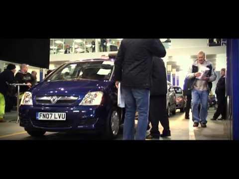 Car Auction at Manheim Auctions Bruntingthorpe