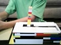 Lego pneumatic version of the world's most useless machine