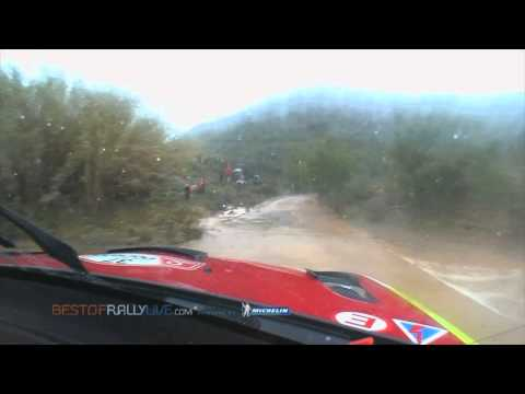 Leg 2 Highlights (Fords crash) - 2012 WRC Rally Portugal - Best-of-RallyLive.com