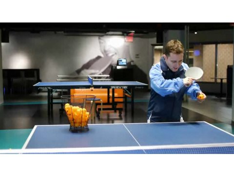 Table Tennis Strokes: Backhand Push