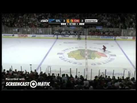 Every NHL Shootout Goal by Patrick Kane