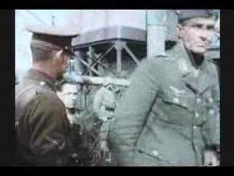 WW II : RARE COLOR FILM : BATTLE FOR NORWAY : PART 3 OF 3