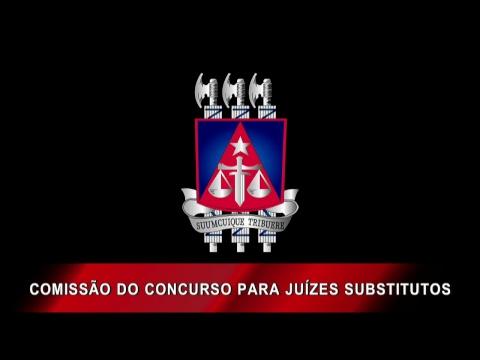 Comissão do Concurso para Juízes Substitutos - 15/02/2019