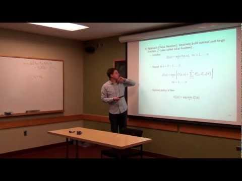 Lecture 22: Stochastic control