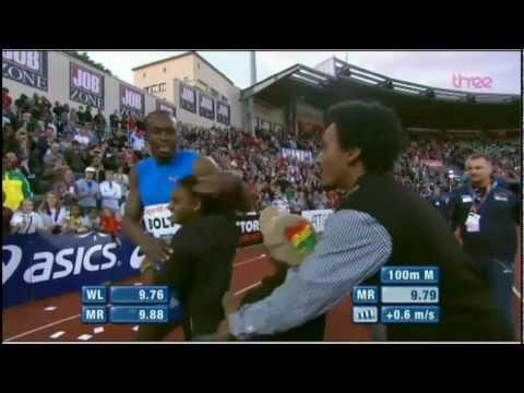 Bolt 9.79 Oslo 100m Diamond League 2012  HD