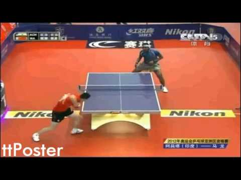Olympic Qualification 2012: Ma Long-Achanta Sharath Kamal