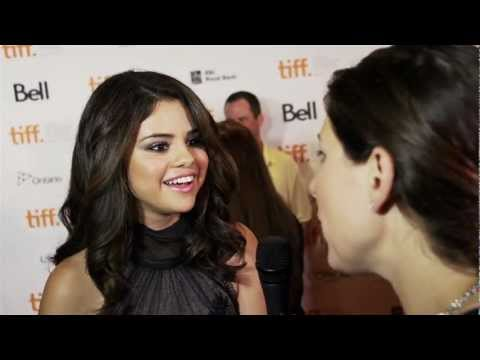 Selena Gomez Interview on the TIFF Red Carpet Premiere of Hotel Transylvania