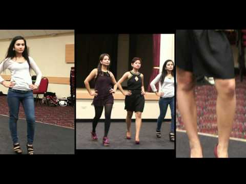Miss UK Nepal  2011, The Rehearsal