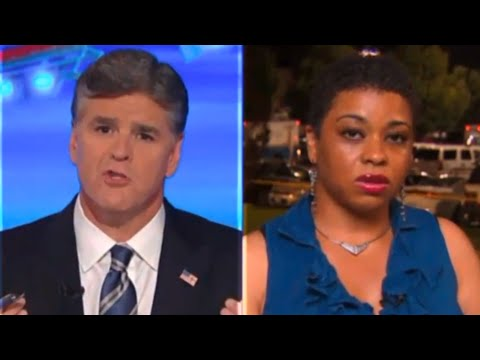 Sean Hannity 'Educates' Guest On Police Brutality & She Fights Back