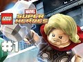 LEGO Marvel Superheroes - 100% Guide - Level 1 - Sand Central Station (HD Gameplay Walkthrough)