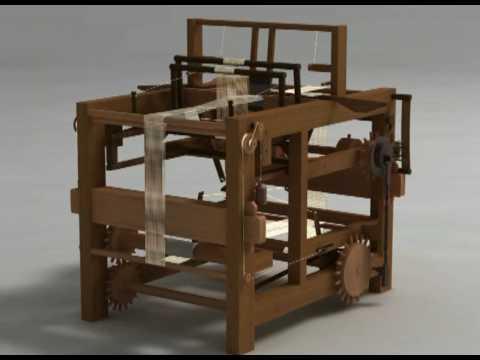 Telaio meccanico per tessitura