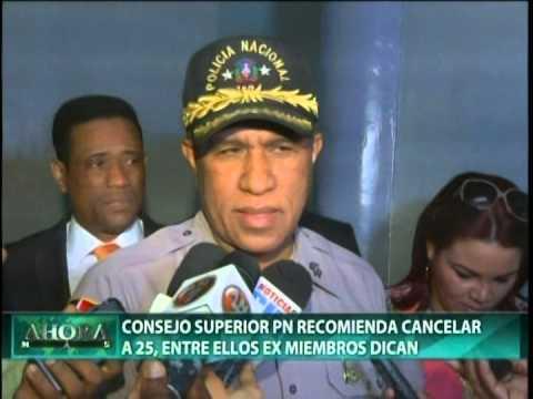 Consejo Superior Policial recomienda cancelar…
