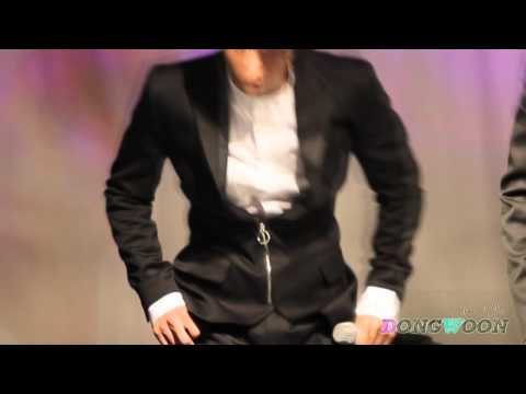 [FANCAM] 110519 Dongwoon - Fiction @ Baek Jiyoung Showcase #6