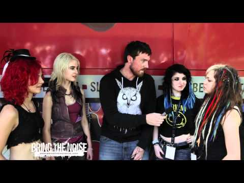 Cherribomb Interviewed by Bring The Noise UK at Sonisphere Festival UK 2011