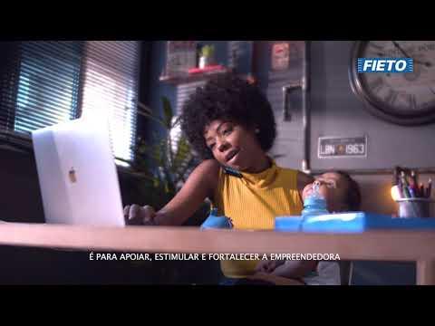 Campanha FIETO - Ela Faz Indústria