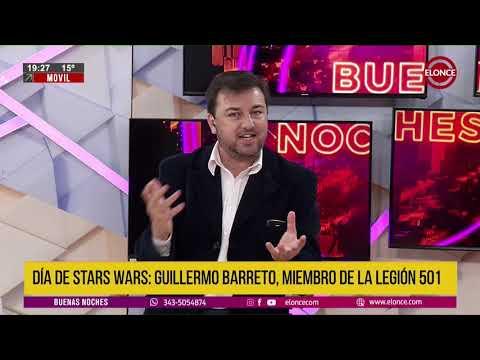 Guillermo Barreto, apasionado de la saga Star Wars, integra La Legión 501