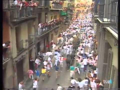 Encierro San Fermín   7 de julio de 1995 480p