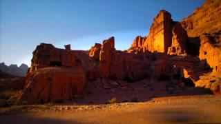 A cidade de Petra Jordânia