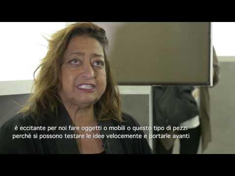MANIGLIE OLIVARI - DESIGN ASSOLUTO - ZAHA HADID 2015 - Video - Chiaravalli dal 1908