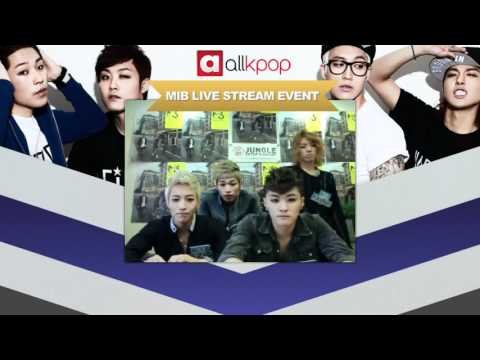 RELIVE IT: Exclusive M.I.B Live Stream on allkpop!