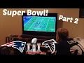 super bowl vlog: part 2   falcons meltdown + patriots hater freakout