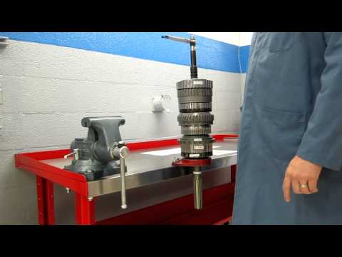 Toyota AB60E/F 6-Speed Automatic Transmission Power flow
