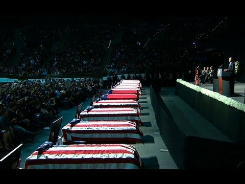 President Obama Speaks at a Memorial Service for West, Texas  4/26/13